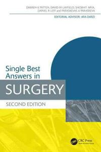 Single Best Answers in Surgery  Second Edition PDF