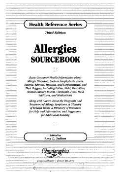 Allergies Sourcebook PDF