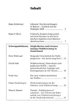 Politische Studien PDF