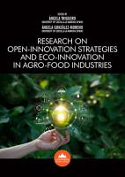 Research on Open innovation Strategies and Eco innovation in Agro food Industries PDF