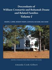 Descendants of William Cromartie and Ruhamah Doane and Related Families: Anders, Currie, Hendry/Henry, Johnson, McNabb, and Shaw