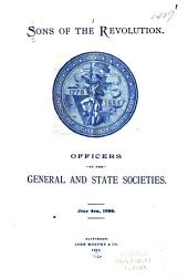 Officers of the General and State Societies, July 4th, 1894