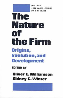 The Nature of the Firm PDF