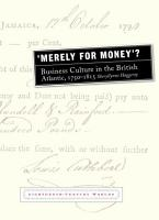 Merely for Money  PDF