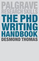 The PhD Writing Handbook PDF