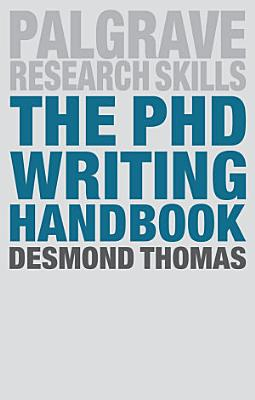The PhD Writing Handbook PDF