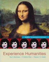 Experience Humanities  Volume 2 PDF