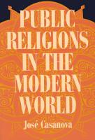 Public Religions in the Modern World PDF