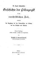 Geschichte der P  dagogik PDF