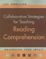Collaborative Stategies for Teaching Reading Comprehension PDF