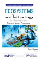 Ecosystems and Technology PDF