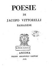 Poesie di Jacopo Vittorelli bassanese