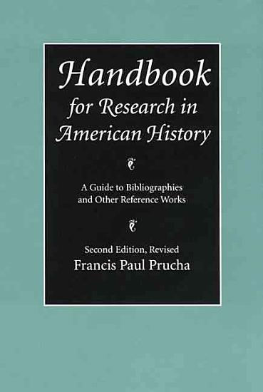 Handbook for Research in American History PDF
