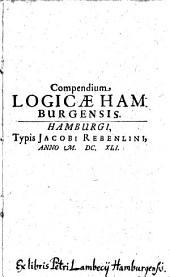Compendium logicae Hamburgensis