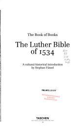 Biblia- das ist: die gantze Heilige Schrifft Deutsch: Die Lutherbibel von 1534. Supplement