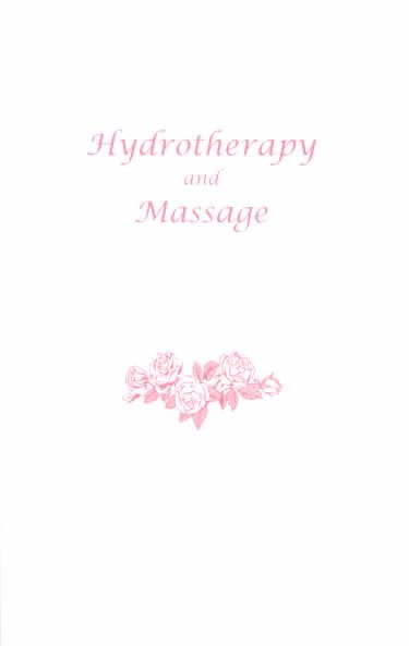 Hydrotherapy and Massage