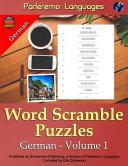 Parleremo Languages Word Scramble Puzzles German   Book