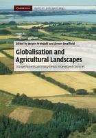 Globalisation and Agricultural Landscapes PDF