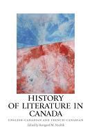 History of Literature in Canada PDF