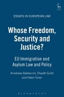 Whose Freedom  Security and Justice  PDF