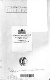 De arbeid mede-ondernemer: Volume 1