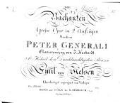 Die Bachanten, grosse Oper in 2 Aufzügen ... Clavierauszug von J. Harbordt