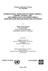 International Migration in North America  Europe  Central Asia  the Middle East  and North Africa PDF