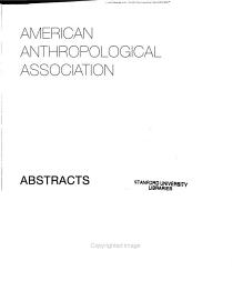 Abstracts of the Annual Meeting PDF