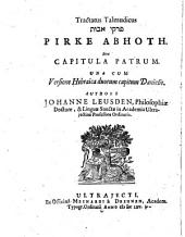 Capitula Patrum