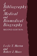 A Bibliography of Medical and Biomedical Biography PDF