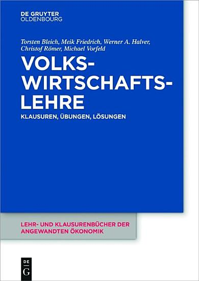 Volkswirtschaftslehre PDF