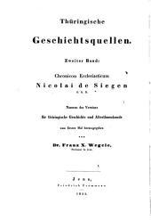 Chronicon ecclesiasticum
