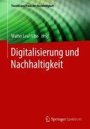 Digitalisierung und Nachhaltigkeit PDF
