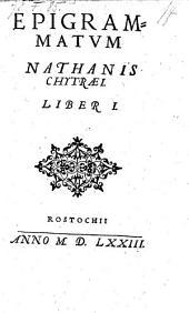Epigrammatvm ; Liber I.