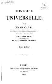 Histoire universelle: Volume8