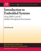 Introduction to Embedded Systems PDF