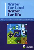 Water for Food Water for Life PDF