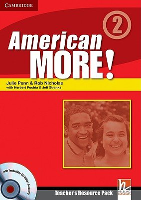 American More  Level 2 Teacher s Resource Pack with Testbuilder CD ROM Audio CD