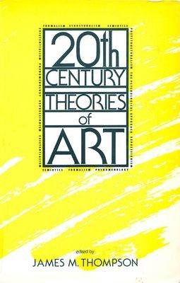 Twentieth Century Theories of Art