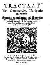 Tractaat van commercie, navigatie, en marine, gemaakt en geslooten tot Nymegen den 2/12 october 1679, tusschen den koning van Sweden [...] en de heeren Staaten Generaal