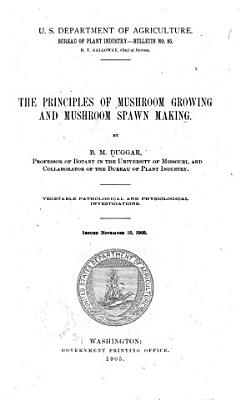 The Principles of Mushroom Growing and Mushroom Spawn Making PDF