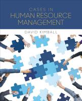Cases in Human Resource Management PDF