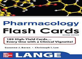 Lange Pharmacology Flash Cards PDF