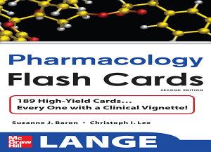 Lange Pharmacology Flash Cards Book