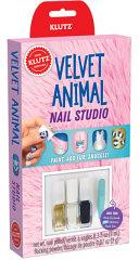 Velvet Animal Nails Book