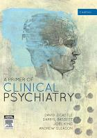 A Primer of Clinical Psychiatry PDF