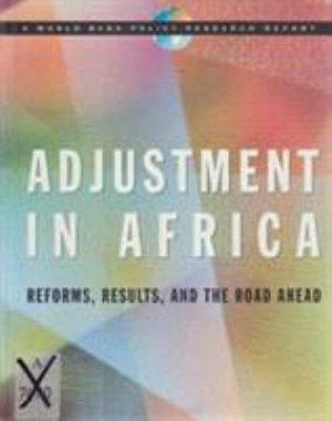 Adjustment in Africa PDF