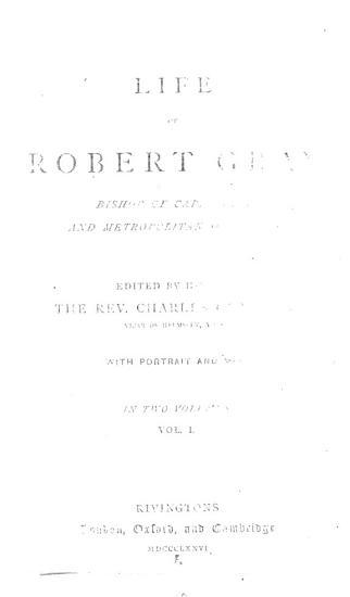 Life of Robert Gray PDF