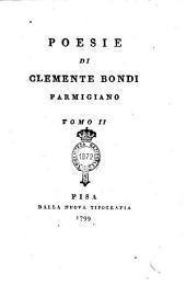 Poesie di Clemente Bondi Parmigiano