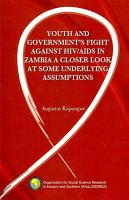 Youth and Government s Fight Against HIV AIDS in Zambia PDF